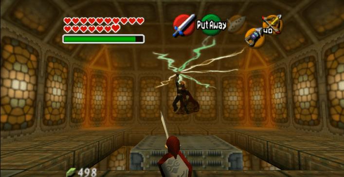 Ganon in Ocarina of Time