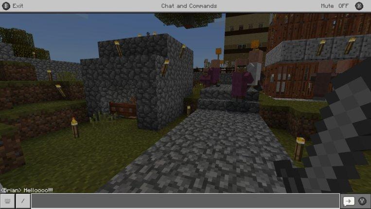 Minecraft Chat Box