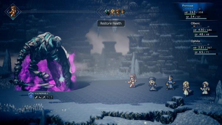 Octopathe Traveler Flame Guardian