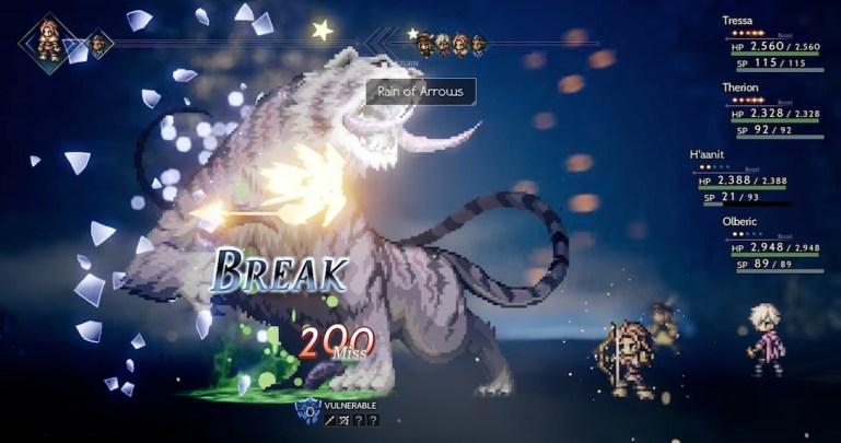 Octopath Traveler Break
