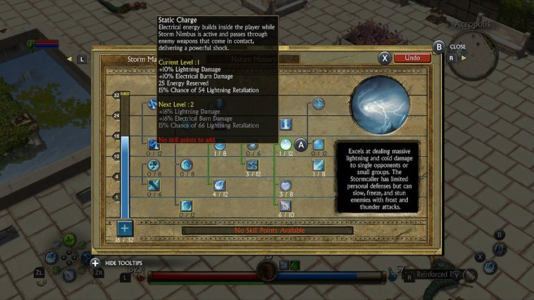 Titan Quest Skill Tree