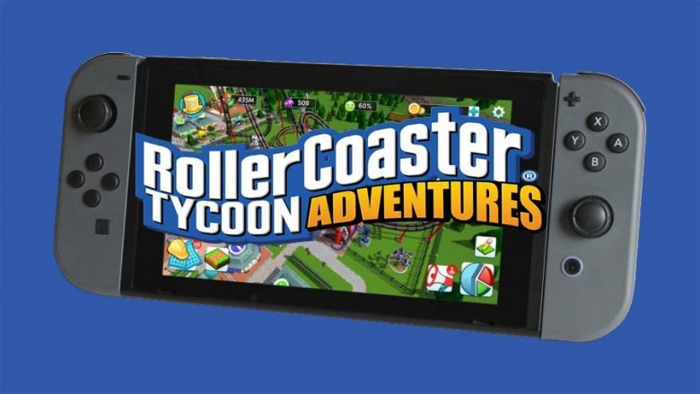 New Rollercoaster Tycoon - Adventures coming to Switch