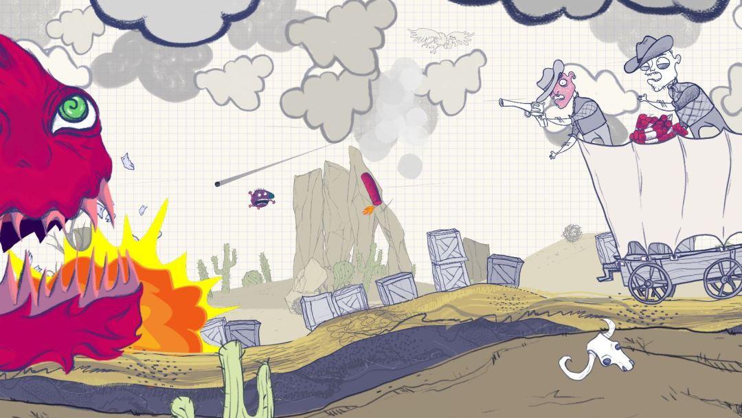 Escape Doodland Review Screenshot 1