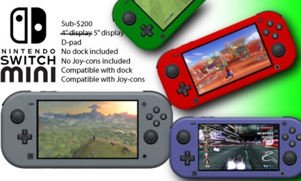 Nintendo Switch Mini Coming 2019?