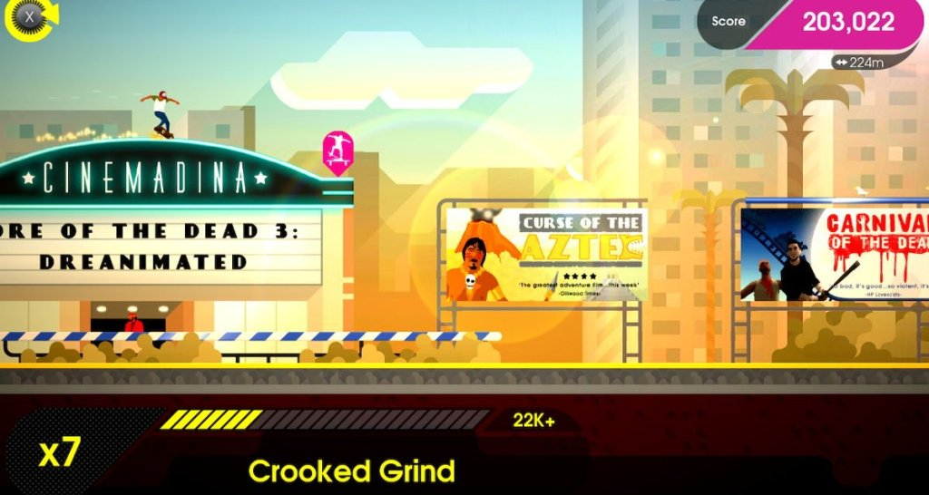 OlliOlli Switch Stance Review Screenshot 2