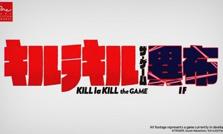 Japanese character introductions of Ryuko and Satsuki for KILL la KILL – IF released