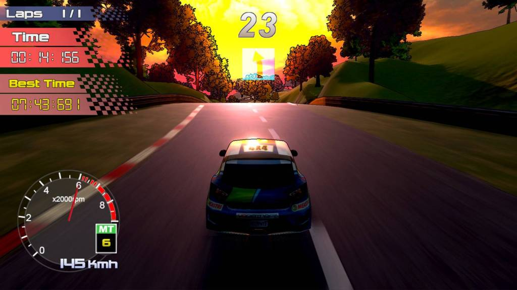 Rally Rock n Racing Screenshot 2
