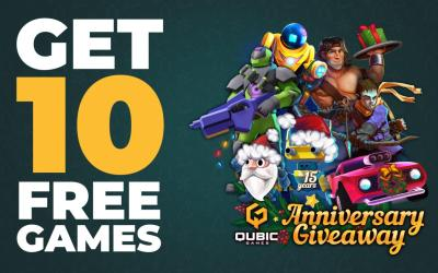 Qubic Games to Give Away 10 Switch Games Free in the Run Up to Christmas