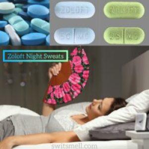 Zoloft night sweats