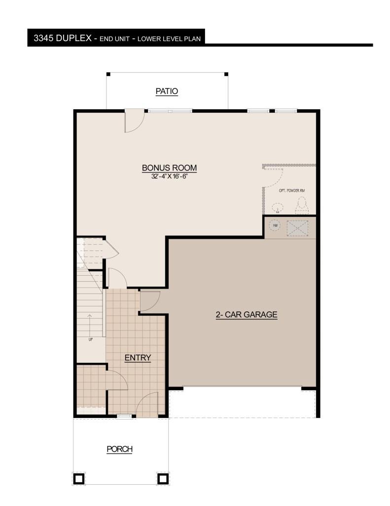 3345 Duplex LOWWER LEVEL