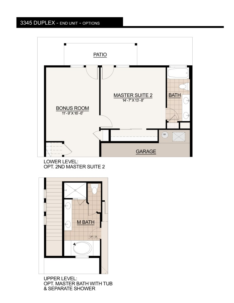 3345 Duplex OPTIONS