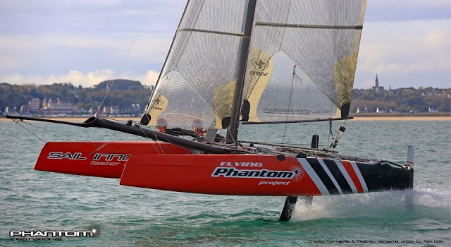 Flying Phantom at 29 knots
