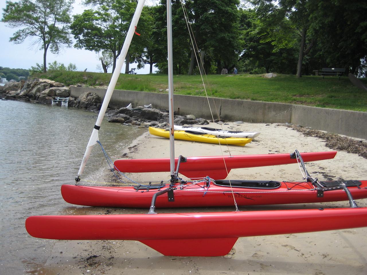 Badass carbon sailing kayak? - SWIZZLE MEDIA