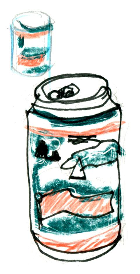 Pilsner-beer-sketch