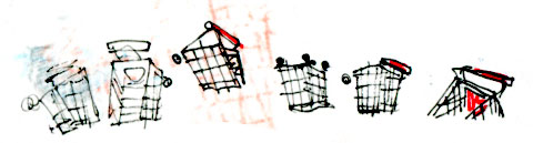 shopping-cart-sketches