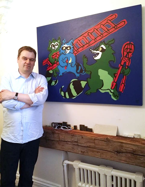 andreas-with-raccoon-painting