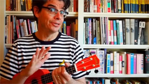 Rob Elliott plays some Old Tyme New Wave on the ukulele.