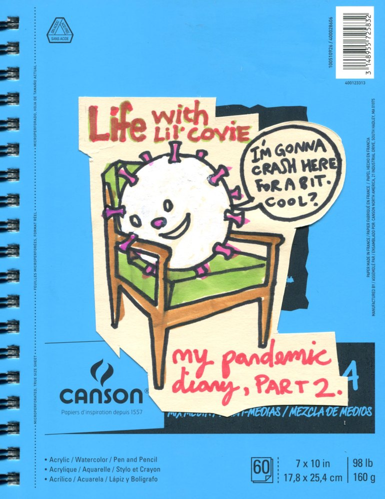 My Pandemic Diary! Part 2 cover Life with Lil Covie
