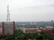 All India Radio (AIR) Headquarters in Dehli, India. Photo courtesy of Wikipedia.