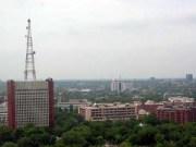 All India Radio (AIR) Headquarters in Dehli, India. Photo courtesy of Wikipedia.