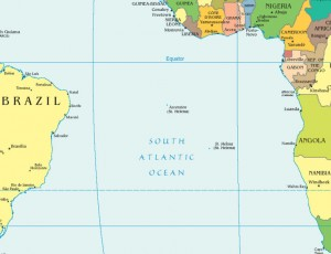 Click here to see St. Helena's remote location in the South Atlantic Ocean. (Map coutesy of Wikipedia)