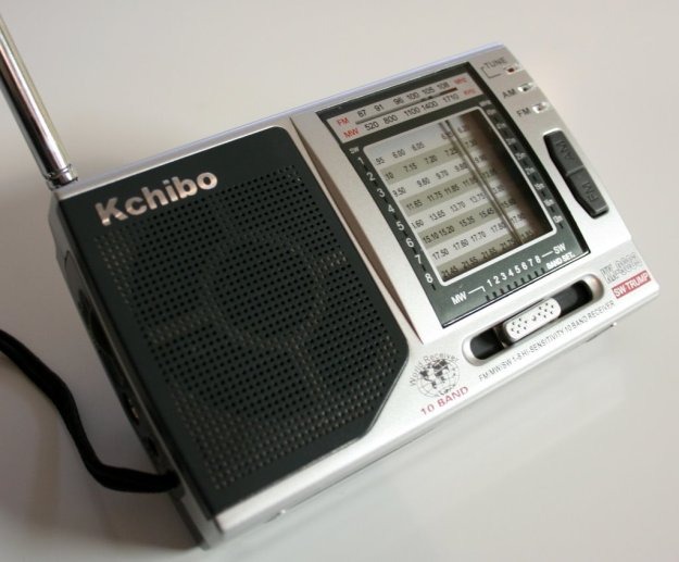 The Kchibo KK-9803 portable shortwave radio