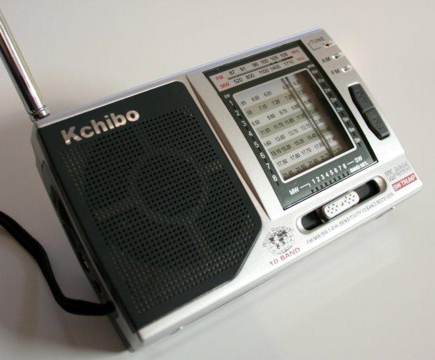 The Kchibo KK-9803 portable shortwave radio
