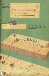 """A sample illustration from """"How To Build a Transistor Radio"""""""