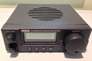The Lowe SRX 100 shortwave receiver (Click to enlarge)