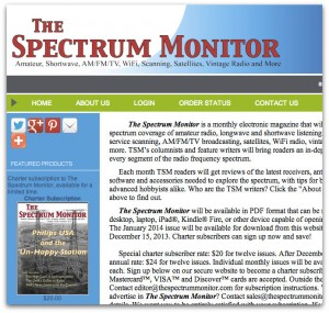 The SpectrumMonitor