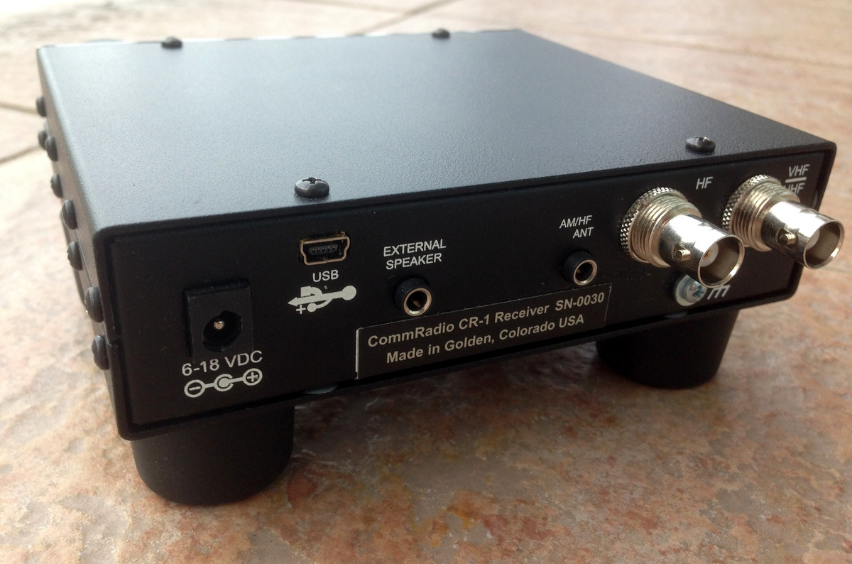 Review of the CommRadio CR-1 software defined radio | The SWLing Post