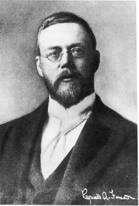 "Reginald Fessenden: ""The Father of Radio Broadcasting"" (Source: Wikipedia)"