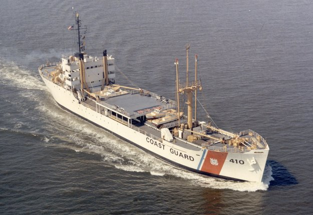 Photo courtesy of former Courier crewman David M. Newell. Source: US Coast Guard