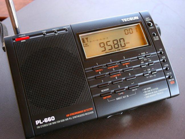TECSUN PL-380 AM FM Digital Radio Scanner LW Shortwave PL380 Radio Player Clock