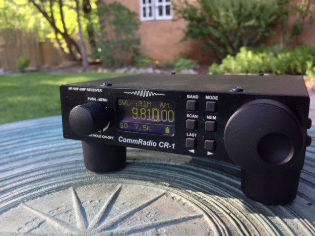 The CommRadio CR-1 in Taos, New Mexico