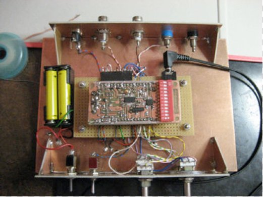 Fig 1. Testbed setup for the Si4835.