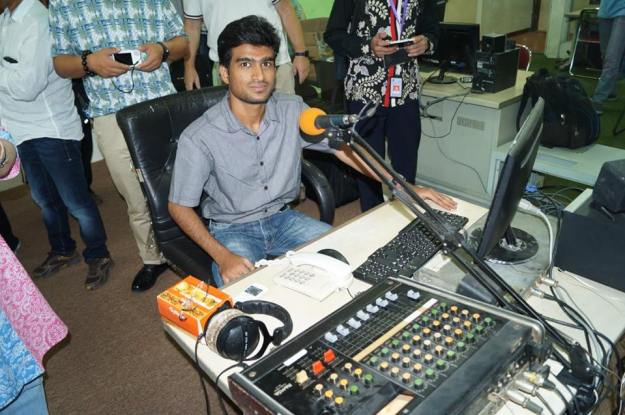 On air at VOI - Mitul Kansal