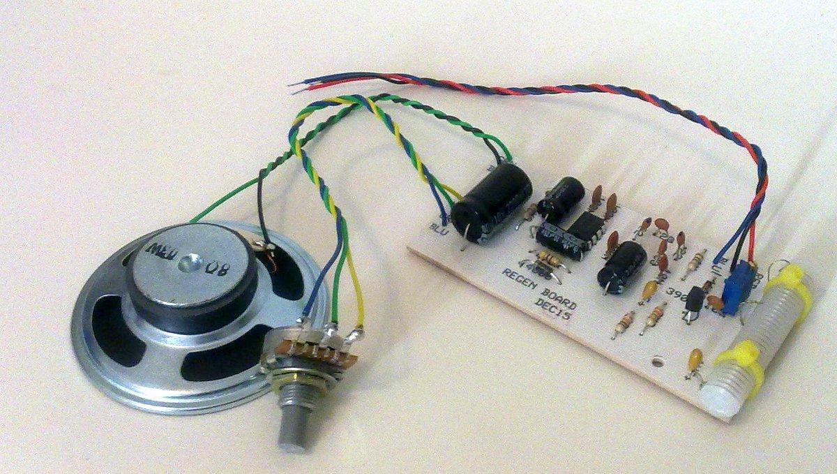 The KRC-2 shortwave regenerative receiver kit | The SWLing Post
