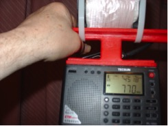 Station KKOB / 770 kHz Alberquerque, New Mexico 1130 Miles distance.
