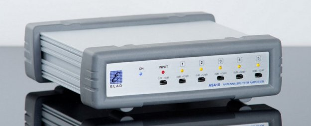 The Elad ASA15 Antenna Splitter Amplifier