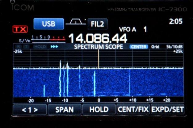 Icom-IC-7300-Display