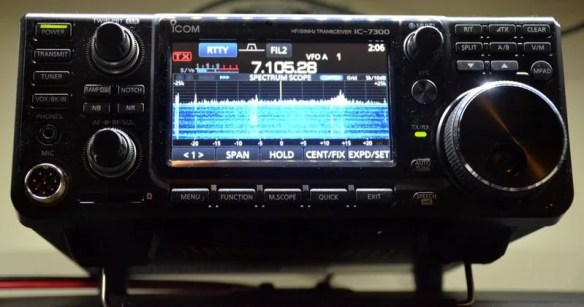 Dave's review of the Icom IC-7300 | The SWLing Post