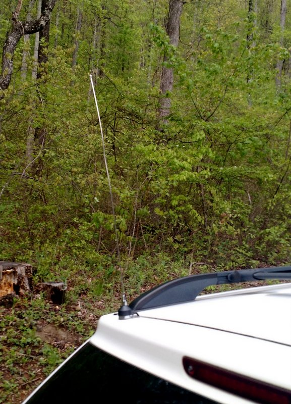 The supplied shortwave radio steel antenna whip is short and effective. It should mount on most vehicles with little problem.