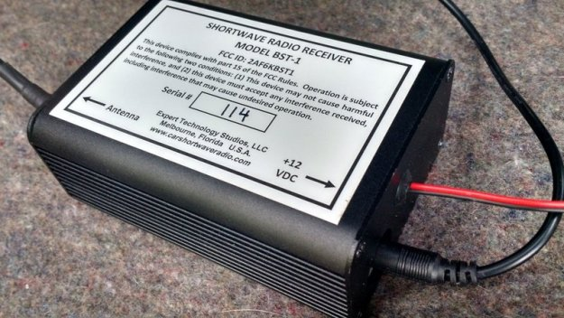 The BST-1 receiver.