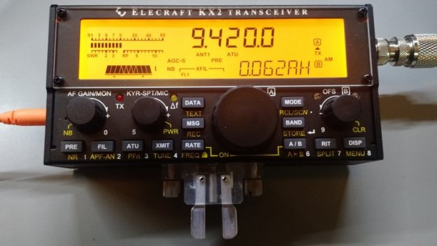 Elecraft-KX2-Voice-Of-Greece-AM-Mode