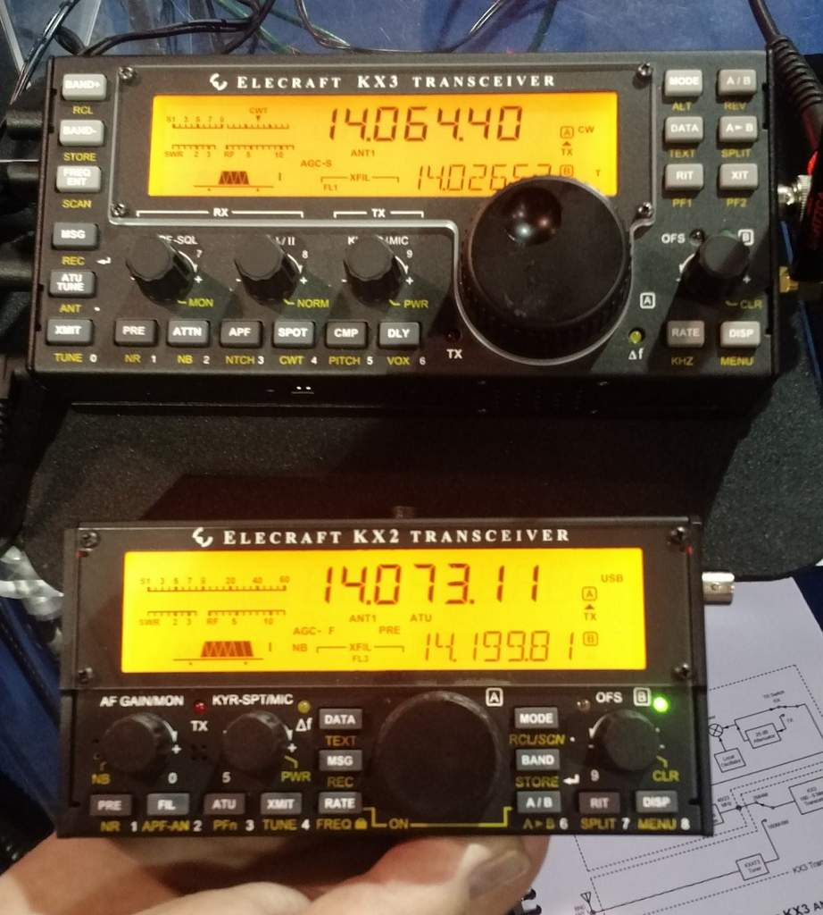 A review of the Elecraft KX2 general coverage QRP
