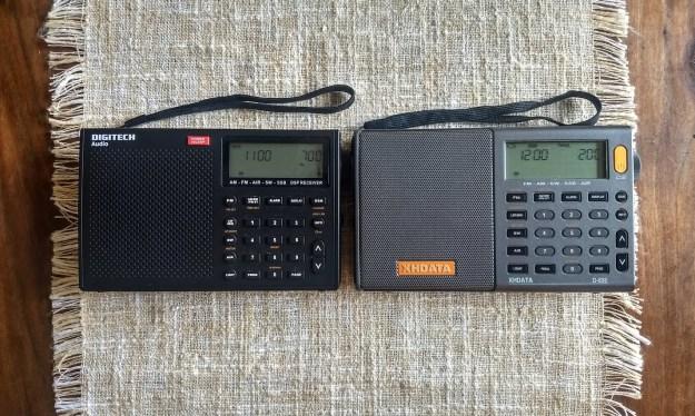 Сравнение XHDATA D-808, Digitech AR-1780 и Tecsun PL-660 на коротких волнах