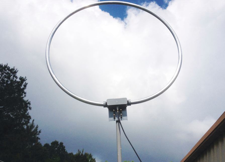 Frank recommends the MFJ-1886 magnetic loop antenna | The