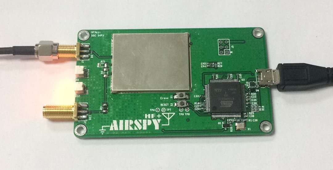 Airspy HF+ | The SWLing Post
