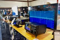 The Flex Radio booth at the 2018 Hamvention.